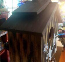 Decorative Bird and Branch Birdhouse