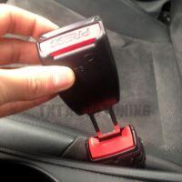 2 Boucle de Ceinture Alarme Bip Stop BMW Series 1 7 E81 E38 X3 X5 Z4