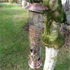 Vogelfutterhaus Vogel Futterstation Futterspender Silo hängend 43cm hoch #2515