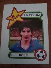 Figurina Panini Star Espana '82 Paolo Rossi - excellent sticker