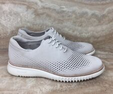 Cole Haan 2.0 Zerogrand Laser Wing Barley Nubuck Casual Oxfords Shoes Size 7