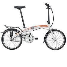 Dahon Curve i3 3-gang hizo ND Ash aduana 20 bicicleta plegable unisex plegable gris