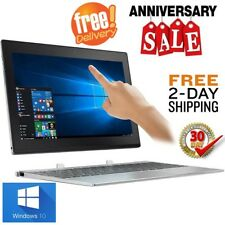"""Lenovo 10"""" Detachable Touchscreen 2in1 Tablet with Keyboard/Laptop 2GB 64GB W10"""
