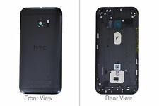 Genuine HTC One M10 Carbon Grey/ Gray Rear / Battery Cover - 83H40048-10