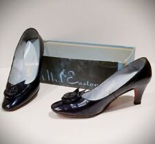 Womens Heels Size 7 - Vintage Mr Easton Women's Shoes 1970 Dark Blue
