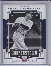 CHARLIE GEHRINGER 2015 Panini Cooperstown Blue #20/25 #20 (C5629)