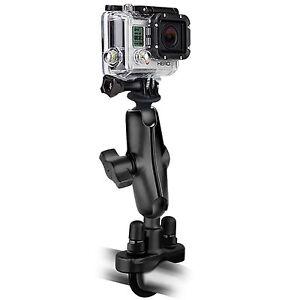"Ram Handlebar Mount with 1"" Ball Custom GoPro® Hero Adapter RAM-B-149Z-GOP1"