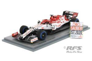 Alfa Romeo C39 Ferrari Räikkönen Formel 1 Türkei 2020 Sauber 500th 1:43 Spark