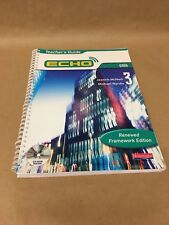 Echo 3 Grun Pupil Book (Echo for Key Stage 3 German) Language Teaching Resource