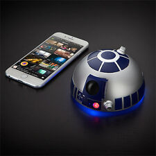 Star Wars r2-d2 Bluetooth Freisprecheinrichtung Lucasfilm Licht Sound iPhone Android NEU