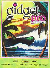 Mint Wade Koniakowsky Art Original Gidget Pro Hawaii Surfing Surf Contest Poster