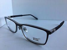 New MONTBLANC MB 616 013 55mm Gray Men's Eyeglasses Frame Italy #5