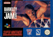 BARKLEY SHUT UP AND JAM - SUPER NINTENDO PAL VERSION CON SCATOLA