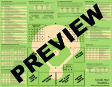 Statis Pro Baseball Gameboard - DIGITAL FORMAT - Print on your own