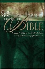 One Year through the Bible by David R. Veerman