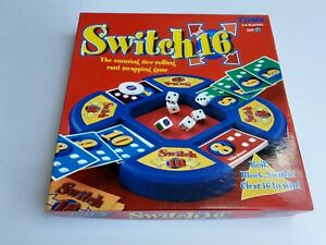 Switch 16 Traditional Family Christmas Board game 2-4 Players Age 7+ By Tomy