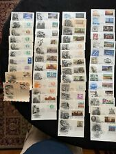 First Day Covers Fdc - Lot Of 121 Unaddressed Regular Postcards - Artcraft