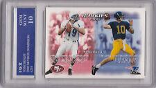 TOM BRADY ROOKIE CARD Gem Mint (10) RC New England Patriots 2000 Football BV$$