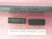 3x Motorola MC14541BAL , IC, Binary Counter, Synchronous,16-Bit, CMOS, CDIP-14