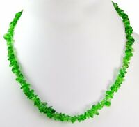 Vintage Fashion & Costume Boho Hippie Ethnic Jewelry Glass Beads Necklace N-307
