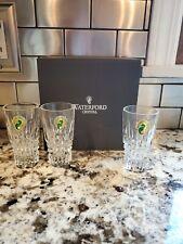 Waterford Crystal Lismore Diamond Shot Glass, BRAND NEW, Set of 3