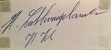 TT especial: Heinz luthringshauser/Hermann Hahn. autógrafos genuino BMW.