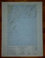 1940's Army (like USGS) topo map South Harpswell Maine 6971 II NE Casco Bay