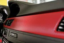 """Blood red carbon fiber by VVIVID8, 60"""" x 60"""" 3d vinyl car / vehicle wrap film"""