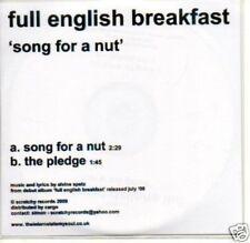 (138Q) Full English Breakfast, Song For A Nut - DJ CD