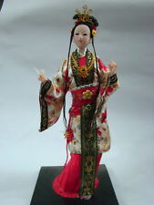 Oriental Broider Doll,Chinese Old style figurine China doll girl new