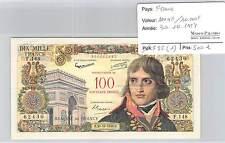 BILLET 100NF/10000 F-10000 F surchargé 100 Nouveaux Francs BONAPARTE 30/10/58***