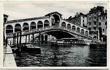 1939 Venezia - Ponte di Rialto, Timbro Lotteria di Merano - FP B/N VG