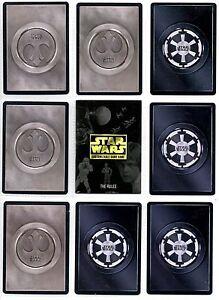 Star Wars CCG Death Star II Rare Cards 1/2
