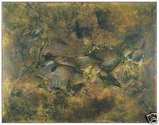 Italian Artist SALVATORE PROVINO, Large Original Painting