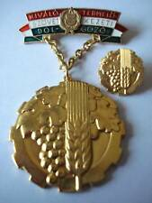 Hungary Hungarian Medal Perfect Worker of Agriculture