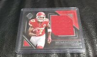 2019 Majestic Rookie Patch Relic🔥 Mecole Hardman  /49 RC Card Mahomes WR Chiefs
