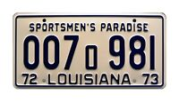 Louisiana | Shark Autopsy | 1975 JAWS Movie | STAMPED Replica Prop License Plate
