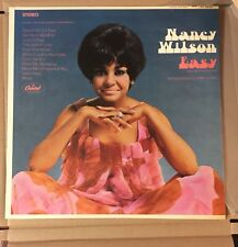 Nancy Wilson - Easy LP ST. 2909 1st pressing great cond,  Free Shipping see pics