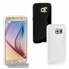 Caseflex Accessories For The Samsung Galaxy S6 S-Line Soft Gel Phone Case Cover