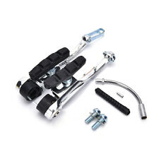 MTB Mountain Bike Bicycle Cycling V-Brake Set Front + Rear Kit Parts Black New