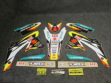 Suzuki RMZ450 08-17 Squadra Yoshimura James Stewart grafico+plastiche GR1315