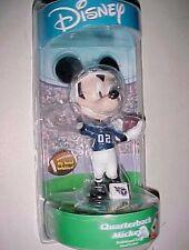 Disney Mickey Mouse 02 Quarterback Nfl Tennessee Titans Bobblehead Doll New
