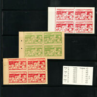 Egypt Stamps 3x Scarce TB Booklets NH Rare