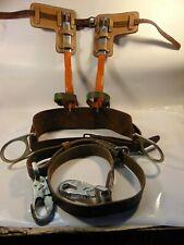 Bashlin Twisted Shank Poletree Adjustable Climbing Spursspikes Amp Belt Strap