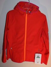 New Spyder soft shell Athletic Fit hooded insulated jacket  womens size L