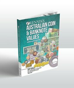 RENNIKS AUSTRALIAN COIN AND BANKNOTE VALUES GUIDE 30TH EDITION SOFTCOVER