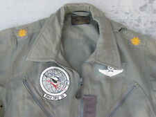 WW2/KOREA L-1B Major 3902 OP2 Combat Squadron Patched Flight Suit/Jacket M/R