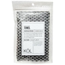Donnamax Kol Charcoal Infused Towels, One Towel #5358