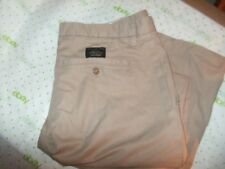 $78 BANANA REPUBLIC Dawson relax fit STRAIGHT LEG 35/31 KHAKI sand brown pants