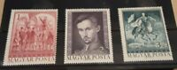 Hungary 1972  - Sandor Petofi  set of 3 MNH stamps SG2762 - 2764